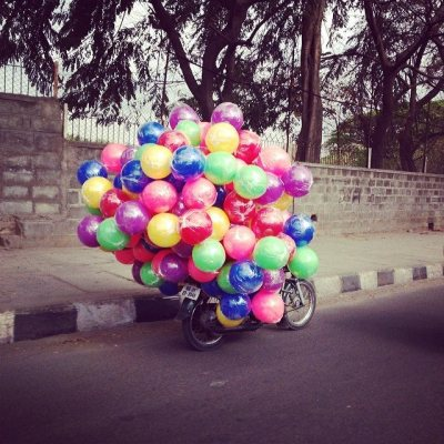 Balloon Man- India